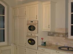 Kuchnia stylowa, drewno lakier kryjący ICA, RAL.
